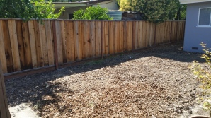 An empty yard is something our clients love to see!