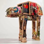 Upcycled Star Wars Art